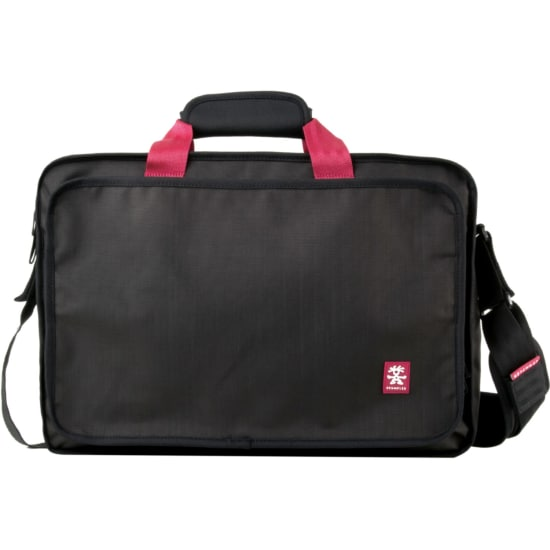 Crumpler The Condo Laptop L Messenger 50 cm Laptopfach Damen schwarz