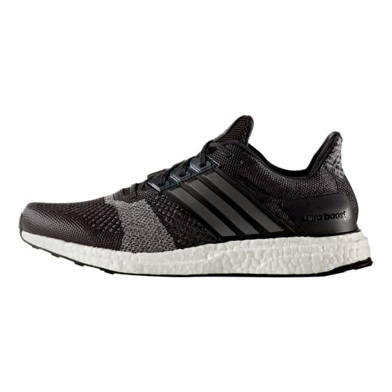 adidas ultra boost st laufschuhe herren schwarz wei. Black Bedroom Furniture Sets. Home Design Ideas