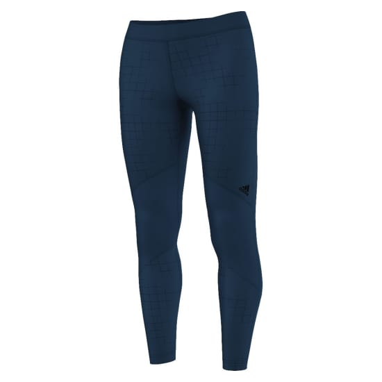 adidas Adidas Techfit Long Tight Printed Pantalon de compression Femme bleu