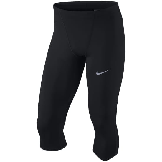 Nike LAUFTIGHT TECH 3/4 TIGHT Herren schwarz-weiß