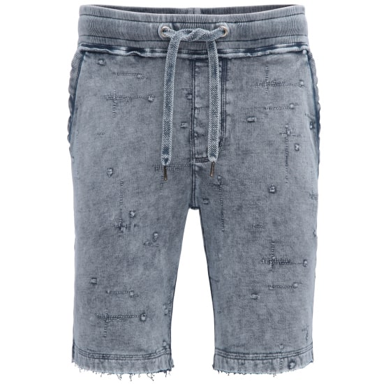 Khujo SHORTS COTTAGE Herren blau