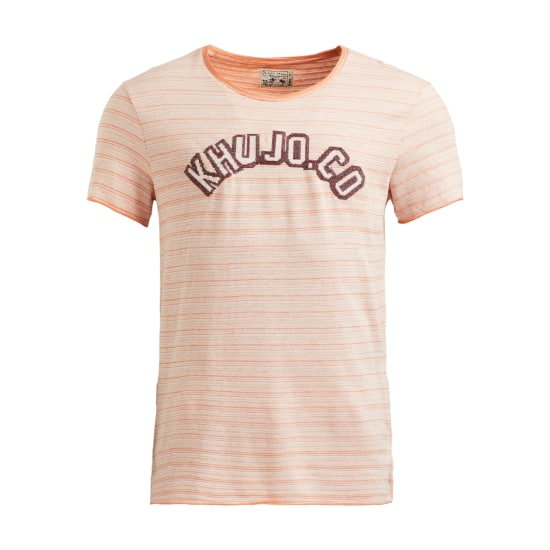 Khujo T-Shirt TOTO Herren orange