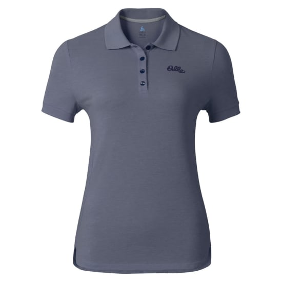 Odlo Polo SHIRT SHORT SLEEVE TRIM Damen grau