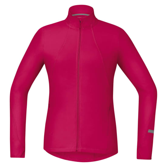 GORE Running Wear Maillot à ml AIR LADY Thermo Shirt de running Femme rose