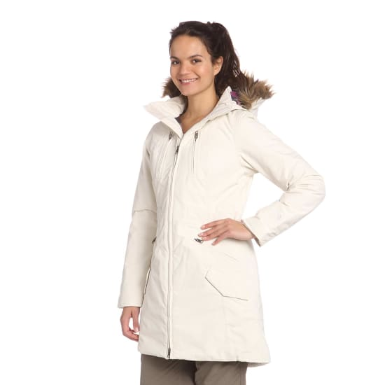the north face insulated sumiko parka damen creme vaola. Black Bedroom Furniture Sets. Home Design Ideas