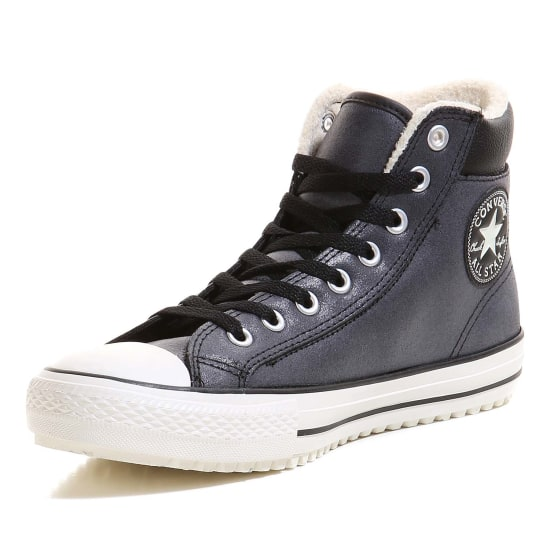 converse chuck taylor all star hi boot 2 0 leather. Black Bedroom Furniture Sets. Home Design Ideas