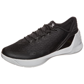 on sale 0faff 55d1c -9% Under Armour CURRY 3 LOW Basketballschuh Herren schwarz-grau ...