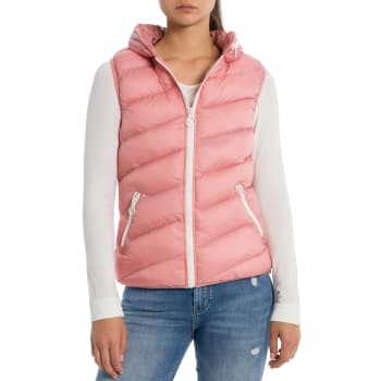 3fa93406133a -30% Bench CORE PUFFER WESTE Damen pink ...