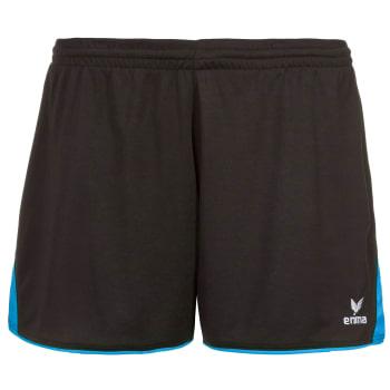 378e5d69849f4a Erima 5-CUBES Shorts ohne Innenslip Damen schwarz-türkis ...