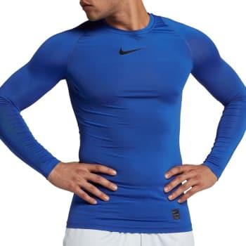 c4ea3127280c2 -40% Nike PRO COMPRESSION LS TOP Funktionsshirt Herren blau ...