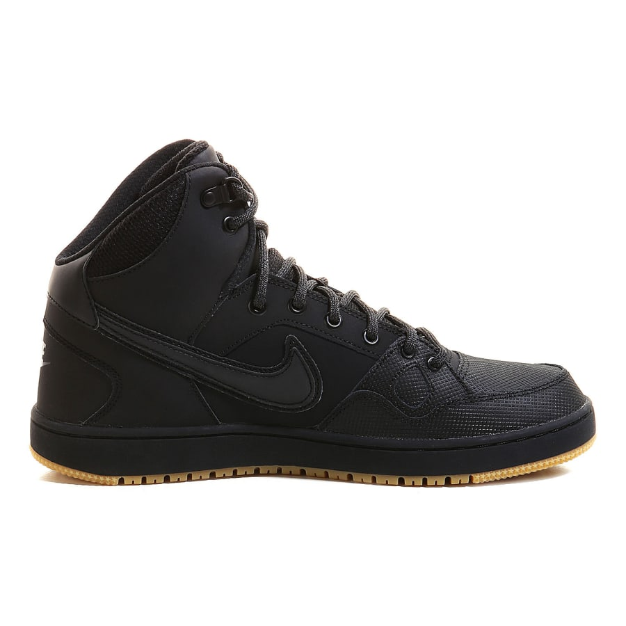 nike son of force mid winter sneaker men black. Black Bedroom Furniture Sets. Home Design Ideas