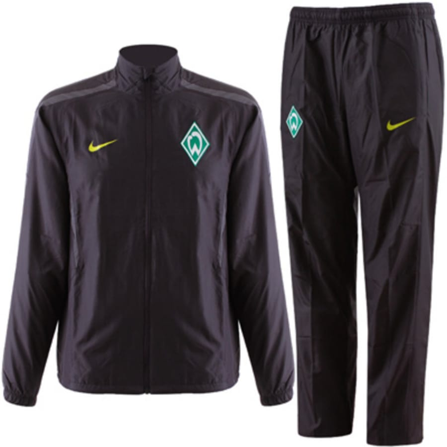 nike werder bremen trainingsanzug herren schwarz vaola. Black Bedroom Furniture Sets. Home Design Ideas
