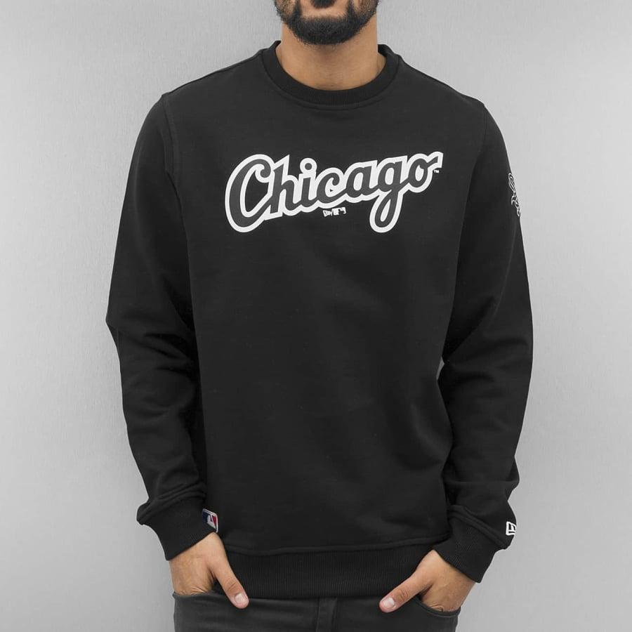 new era mlb chicago sox sweatshirt pullover herren. Black Bedroom Furniture Sets. Home Design Ideas
