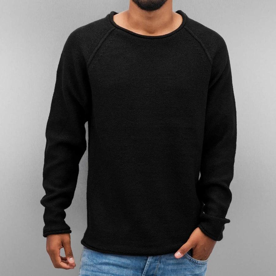 urban classics raglan wideneck sweater herren schwarz vaola. Black Bedroom Furniture Sets. Home Design Ideas