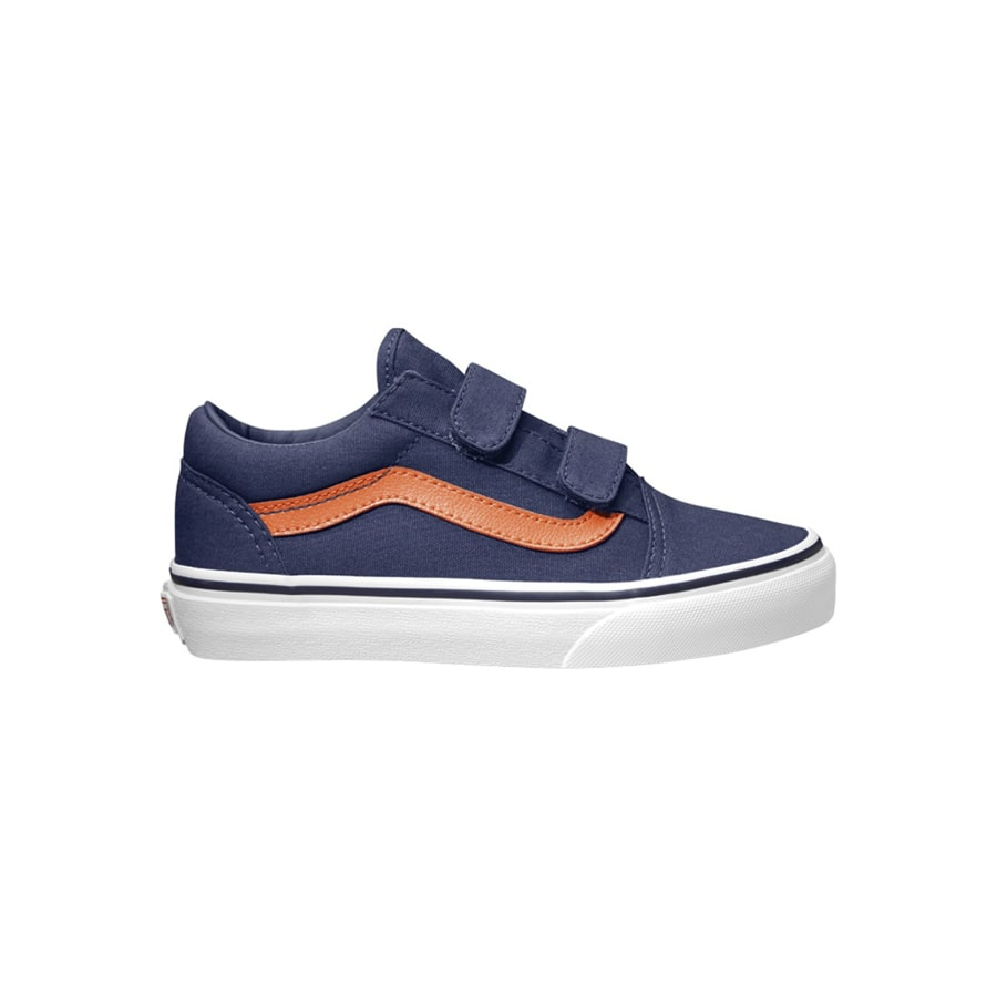 vans old skool v sneaker kinder blau vaola. Black Bedroom Furniture Sets. Home Design Ideas