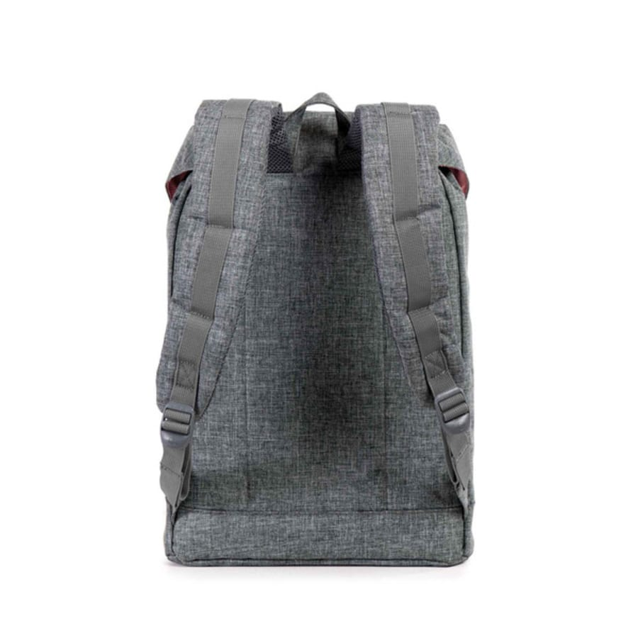 herschel retreat classic rucksack grau schwarz vaola. Black Bedroom Furniture Sets. Home Design Ideas