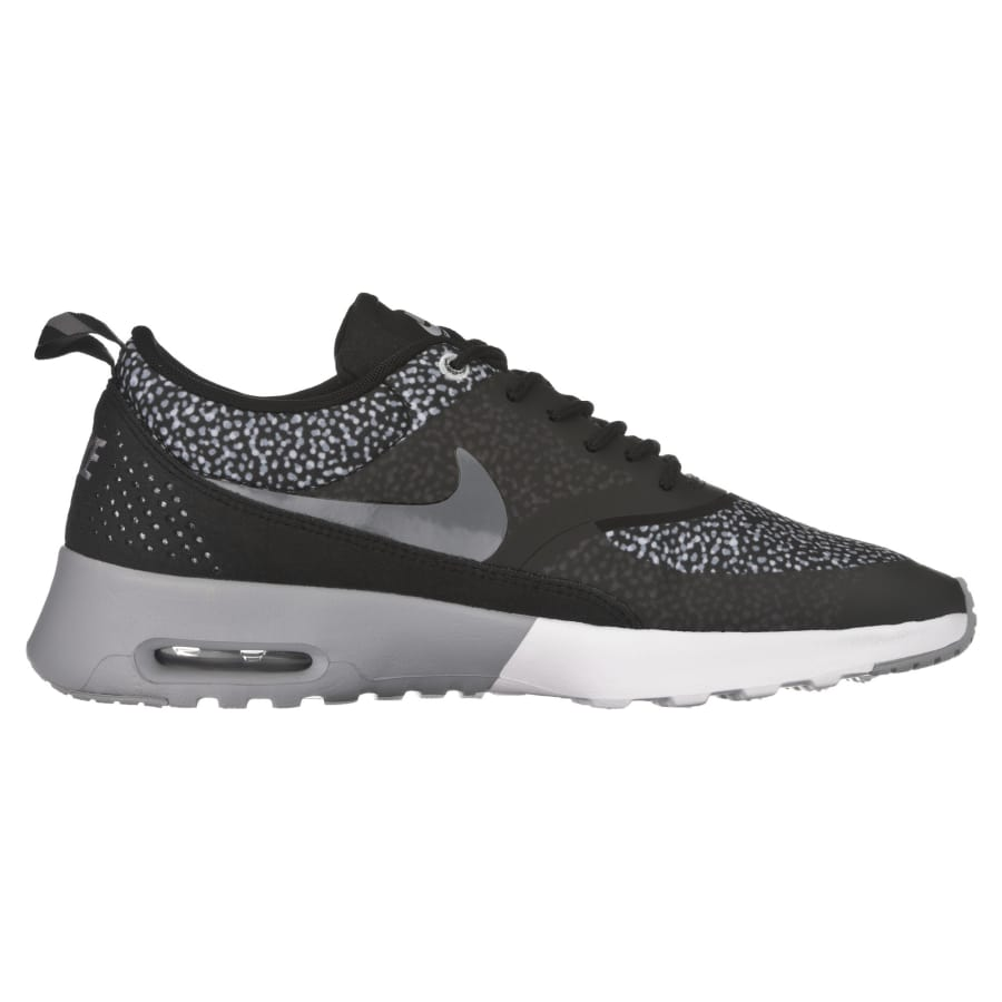 nike air max thea print sneaker damen schwarz grau vaola. Black Bedroom Furniture Sets. Home Design Ideas