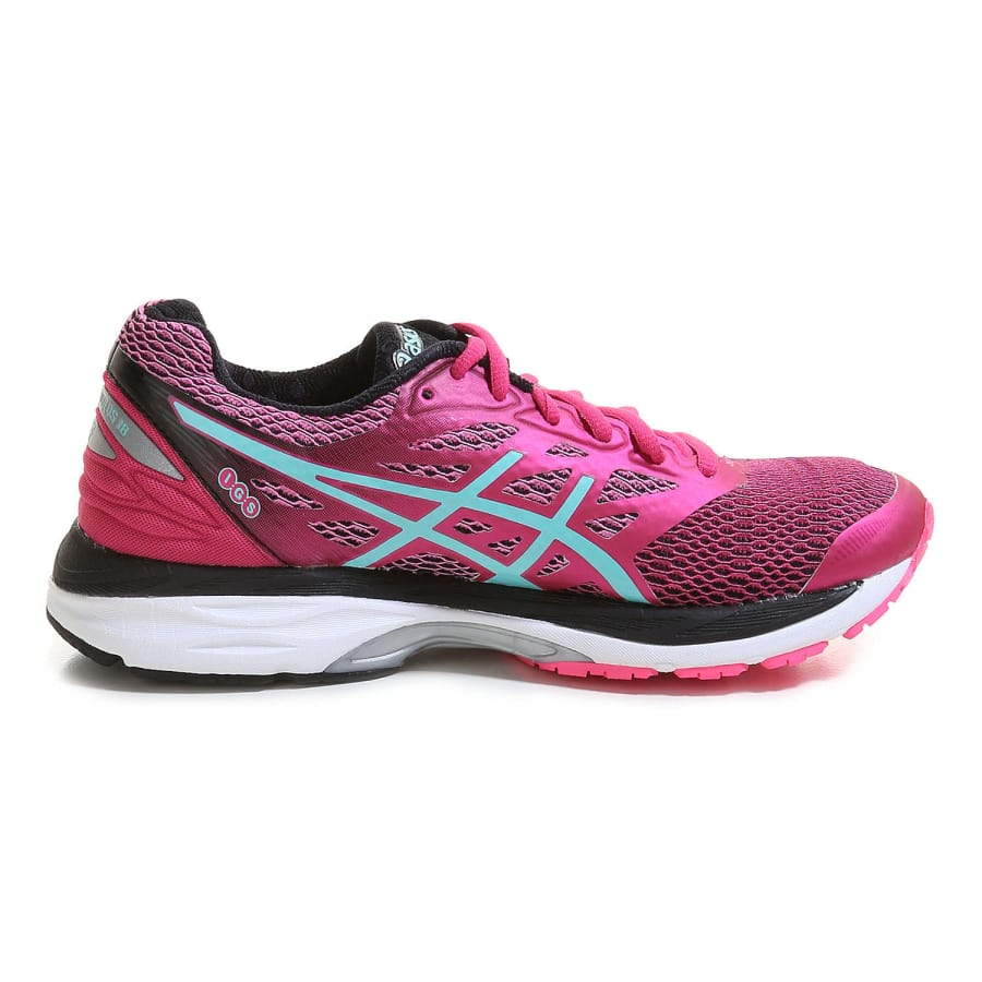 asics gel cumulus 18 running shoes women berry black. Black Bedroom Furniture Sets. Home Design Ideas