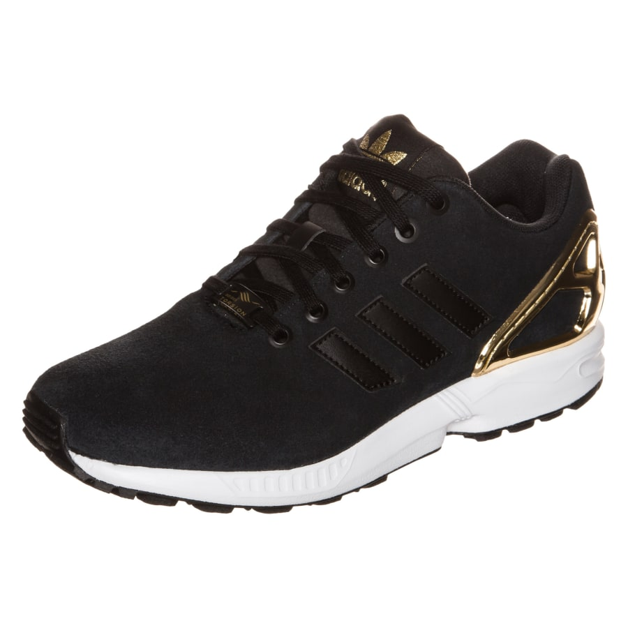 Adidas Sneakers Schwarz Gold