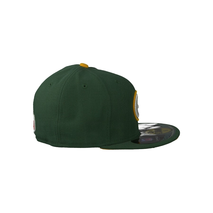 new era 59fifty cap nfl on field 5950 green bay packers. Black Bedroom Furniture Sets. Home Design Ideas