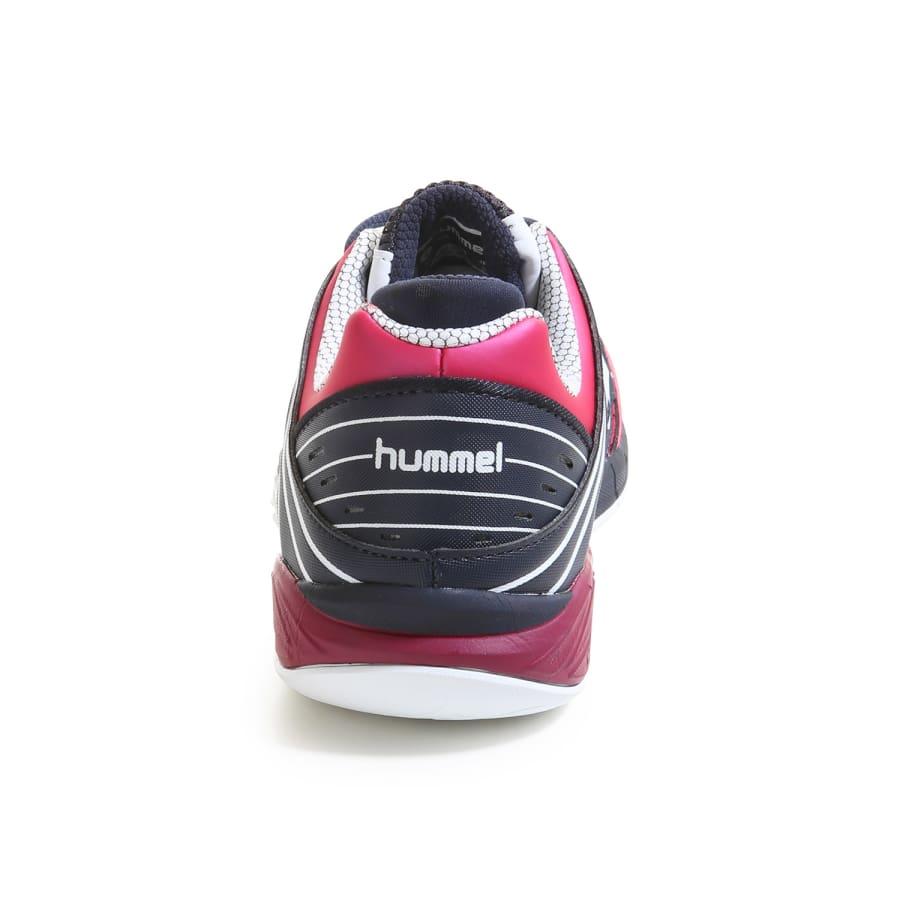 hummel omnicourt z6 handball shoes women black pink vaola. Black Bedroom Furniture Sets. Home Design Ideas