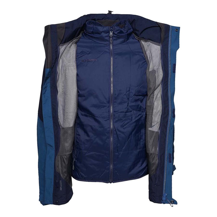 mammut ayako 4 s jacket 3 in 1 doppeljacke herren blau. Black Bedroom Furniture Sets. Home Design Ideas