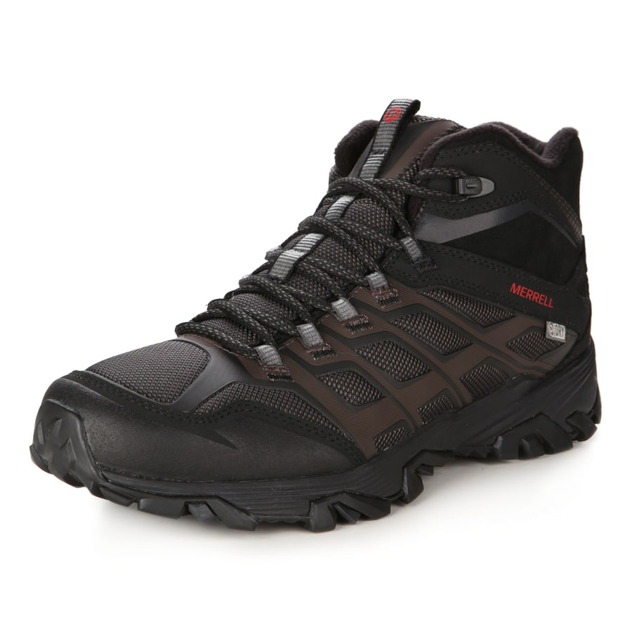 merrell moab fst ice thermo winter boots men black vaola. Black Bedroom Furniture Sets. Home Design Ideas