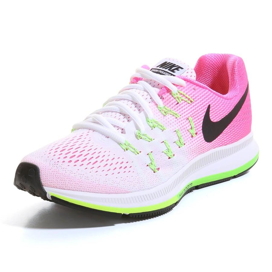 nike air zoom pegasus 33 laufschuhe damen wei pink. Black Bedroom Furniture Sets. Home Design Ideas