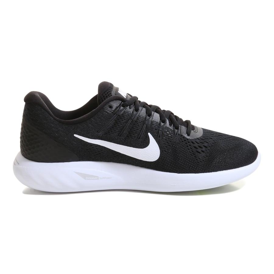 nike lunarglide 8 running shoes black white vaola. Black Bedroom Furniture Sets. Home Design Ideas