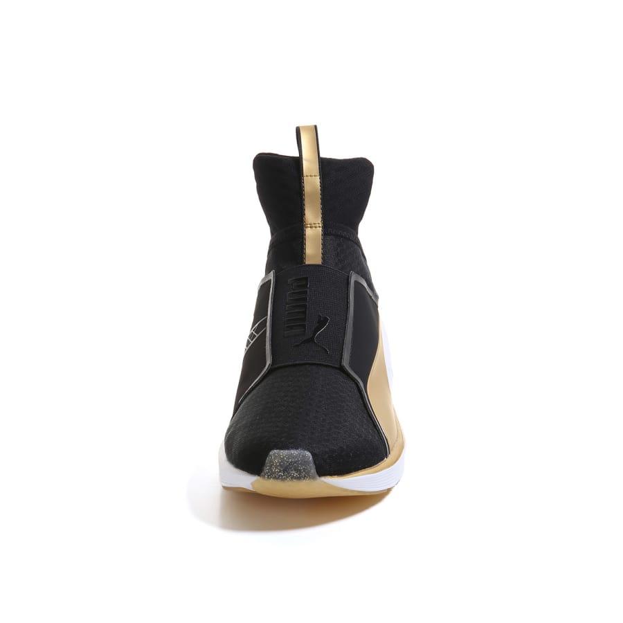puma fierce fif sneaker women black gold vaola. Black Bedroom Furniture Sets. Home Design Ideas