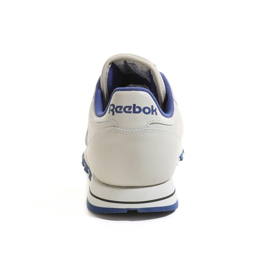 reebok classic leather sneaker low men ecru navy vaola. Black Bedroom Furniture Sets. Home Design Ideas