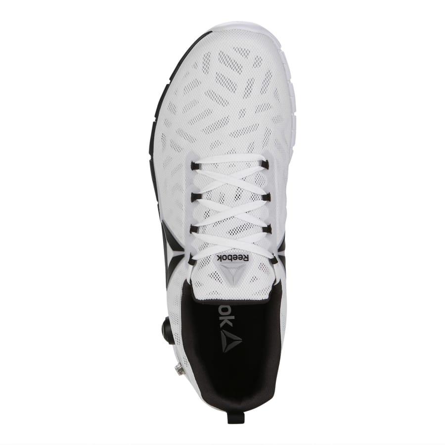 reebok zpump fusion 2 5 running shoes men white black vaola. Black Bedroom Furniture Sets. Home Design Ideas