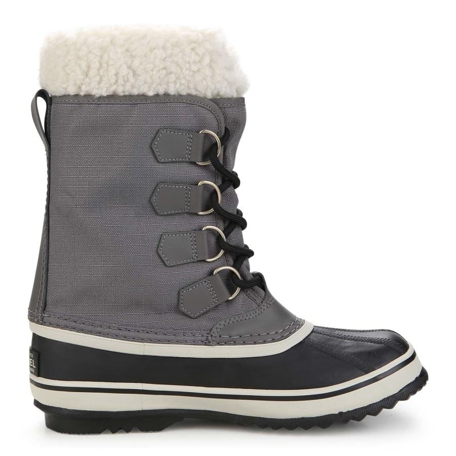 sorel winter carnival winter boots women grey black vaola. Black Bedroom Furniture Sets. Home Design Ideas