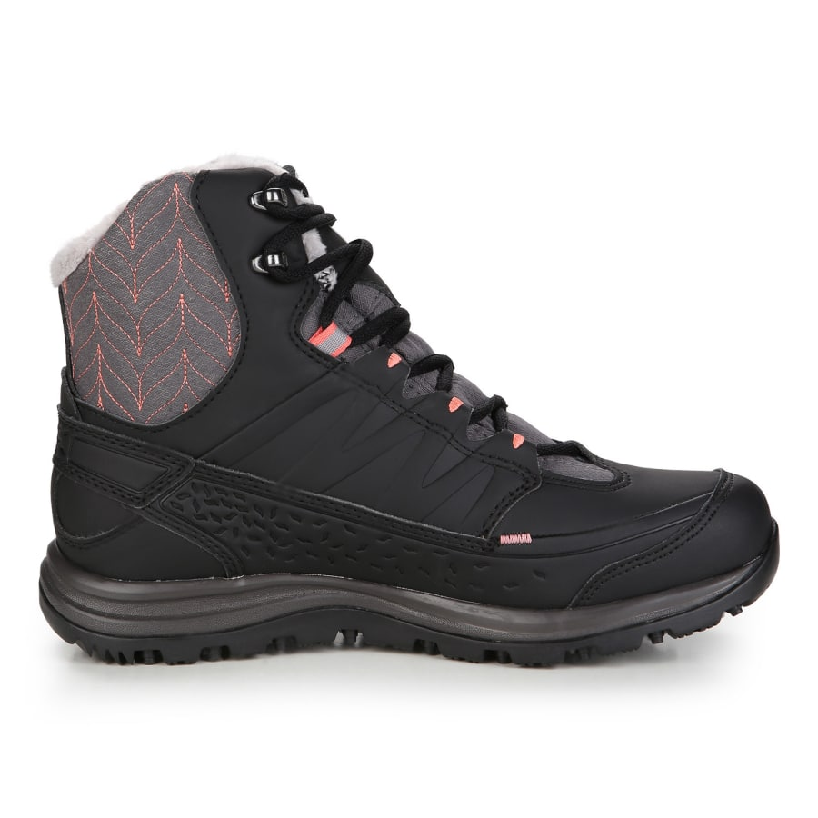 salomon kaina mid gtx winter boots women black vaola. Black Bedroom Furniture Sets. Home Design Ideas
