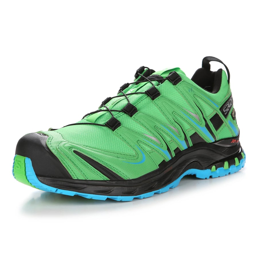 salomon xa pro 3d gtx trailrunning shoes men green black vaola. Black Bedroom Furniture Sets. Home Design Ideas
