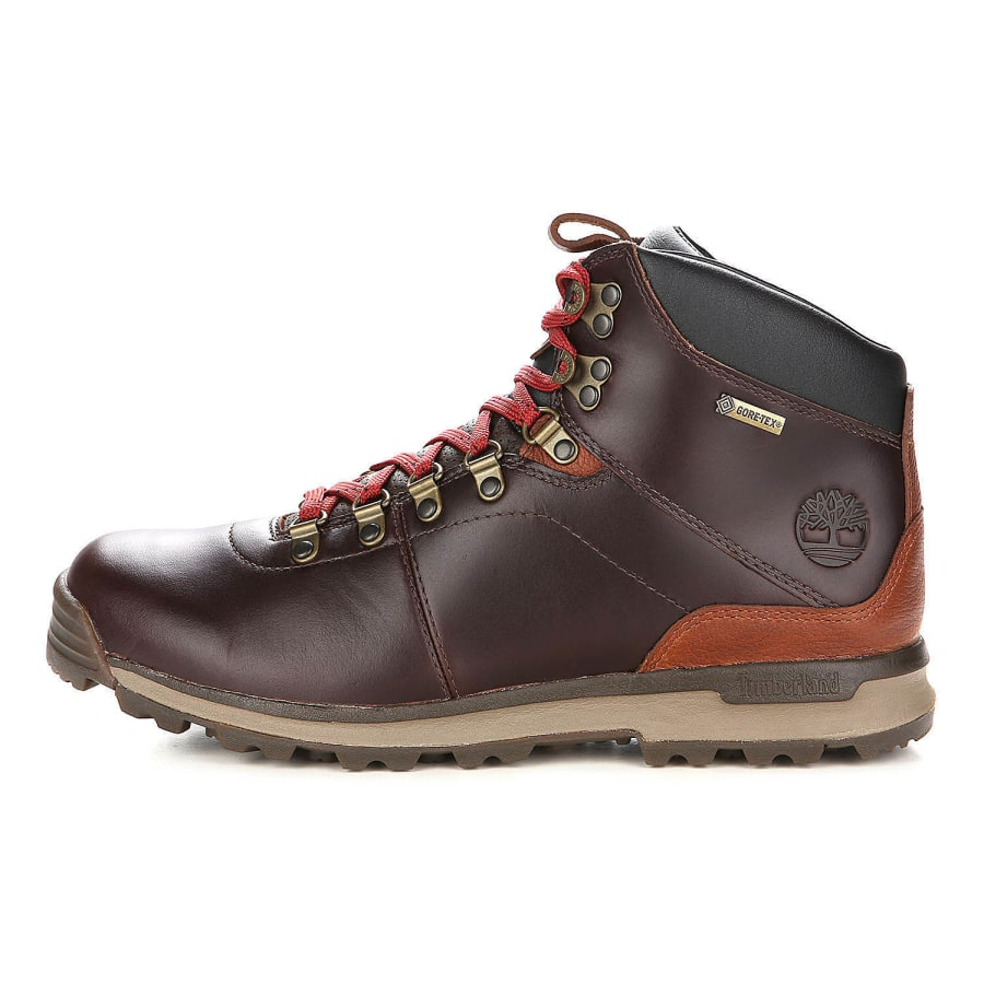 timberland gt scramble mid gtx hiking boots men brown vaola. Black Bedroom Furniture Sets. Home Design Ideas