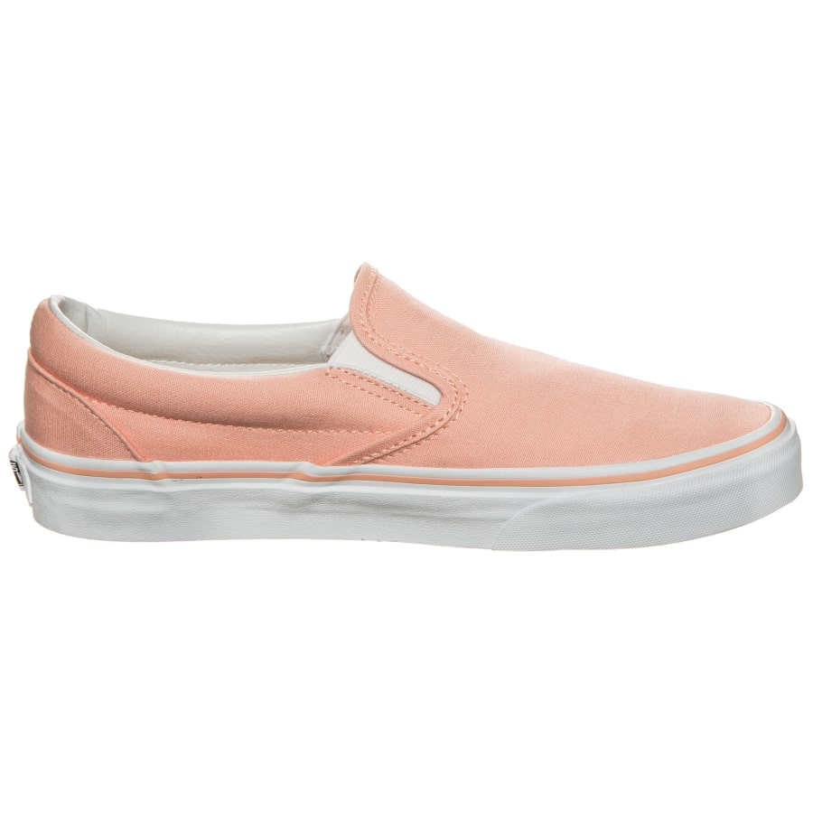 vans classic slip on sneaker damen pink wei vaola. Black Bedroom Furniture Sets. Home Design Ideas