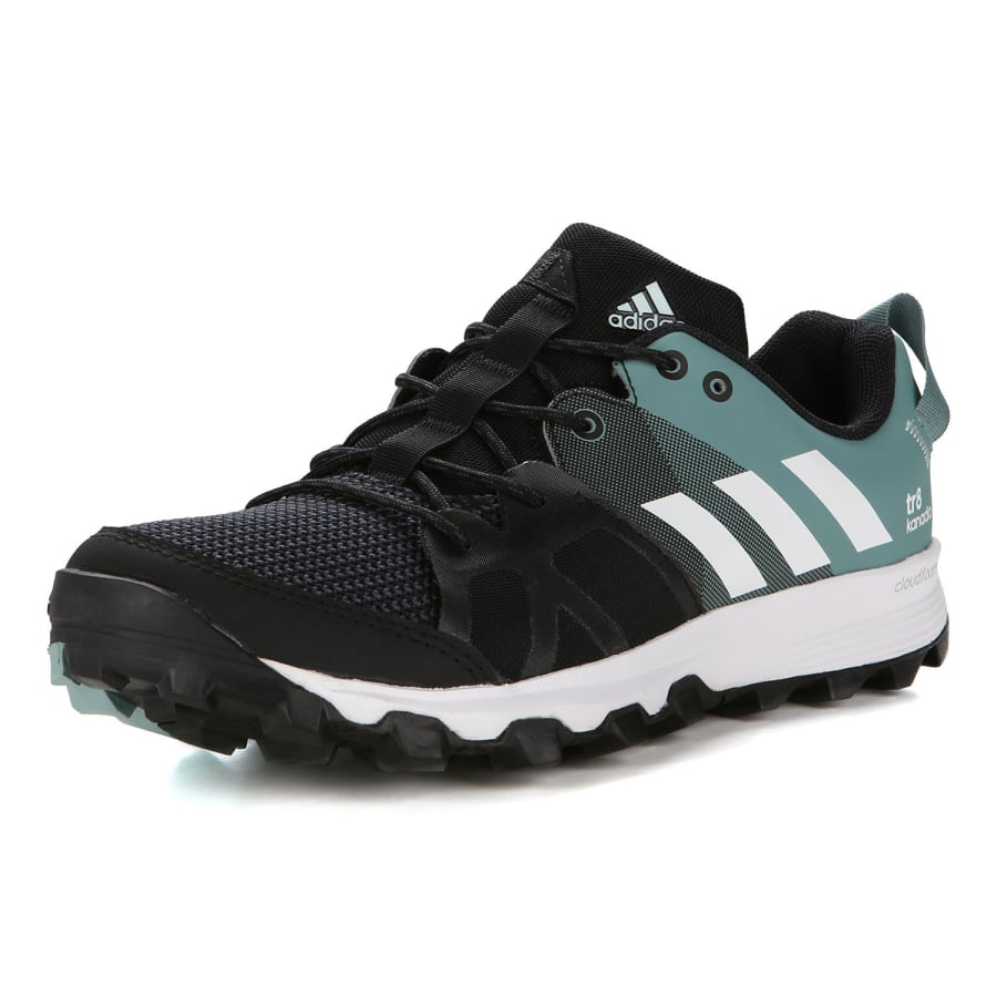 adidas kanadia 8 tr running shoes damen black green vaola. Black Bedroom Furniture Sets. Home Design Ideas