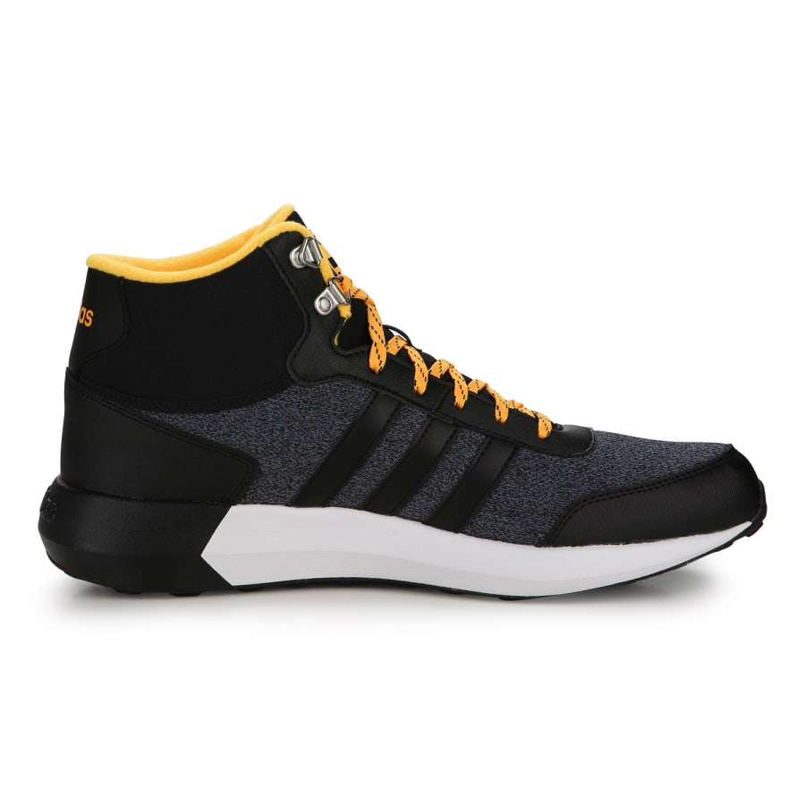 adidas neo cloudfoam race wtr mid sneakers men anthracite black vaola. Black Bedroom Furniture Sets. Home Design Ideas