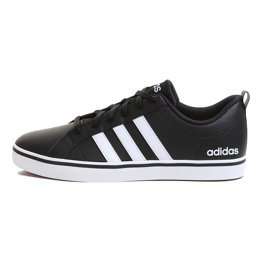 adidas neo mens pace vs leather sneakers