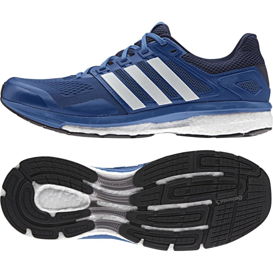 adidas supernova glide boost 8 running shoes blue. Black Bedroom Furniture Sets. Home Design Ideas