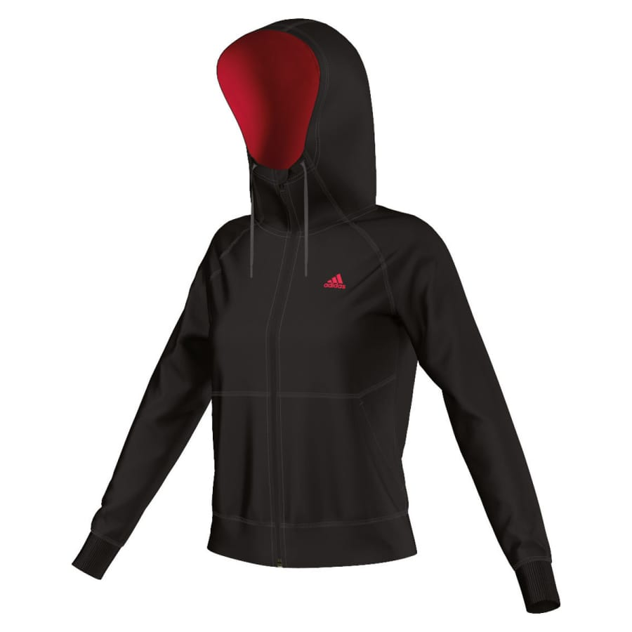 adidas prime hoodie laufjacke damen schwarz vaola. Black Bedroom Furniture Sets. Home Design Ideas