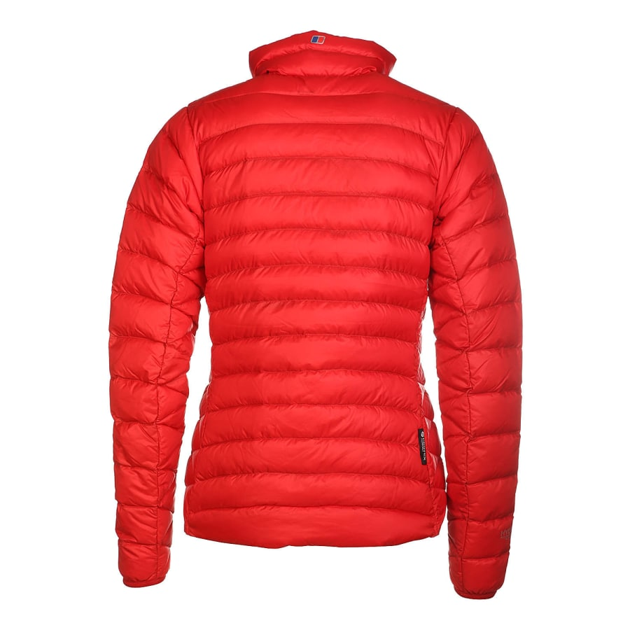 berghaus furnace down jacket daunenjacke damen rot. Black Bedroom Furniture Sets. Home Design Ideas