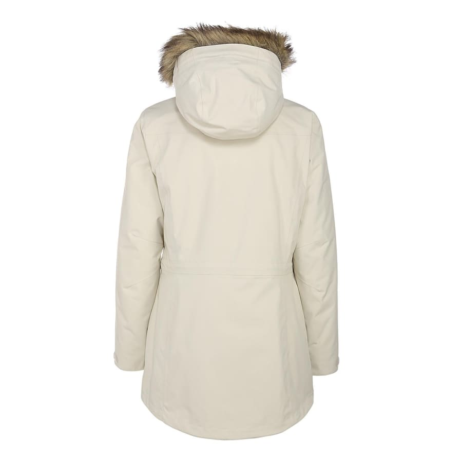 jack wolfskin alberta parka winterparka damen creme. Black Bedroom Furniture Sets. Home Design Ideas