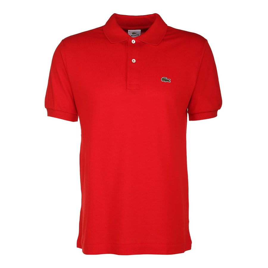 lacoste classic poloshirt l1212 herren rot vaola. Black Bedroom Furniture Sets. Home Design Ideas