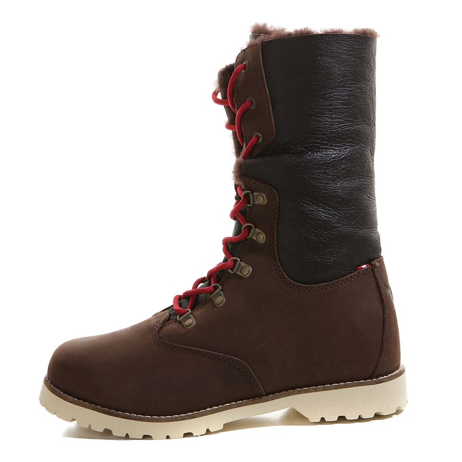 Cool Home Shoes Womens Boots Michael Kors Winter Mid Boot Women Suede Brown