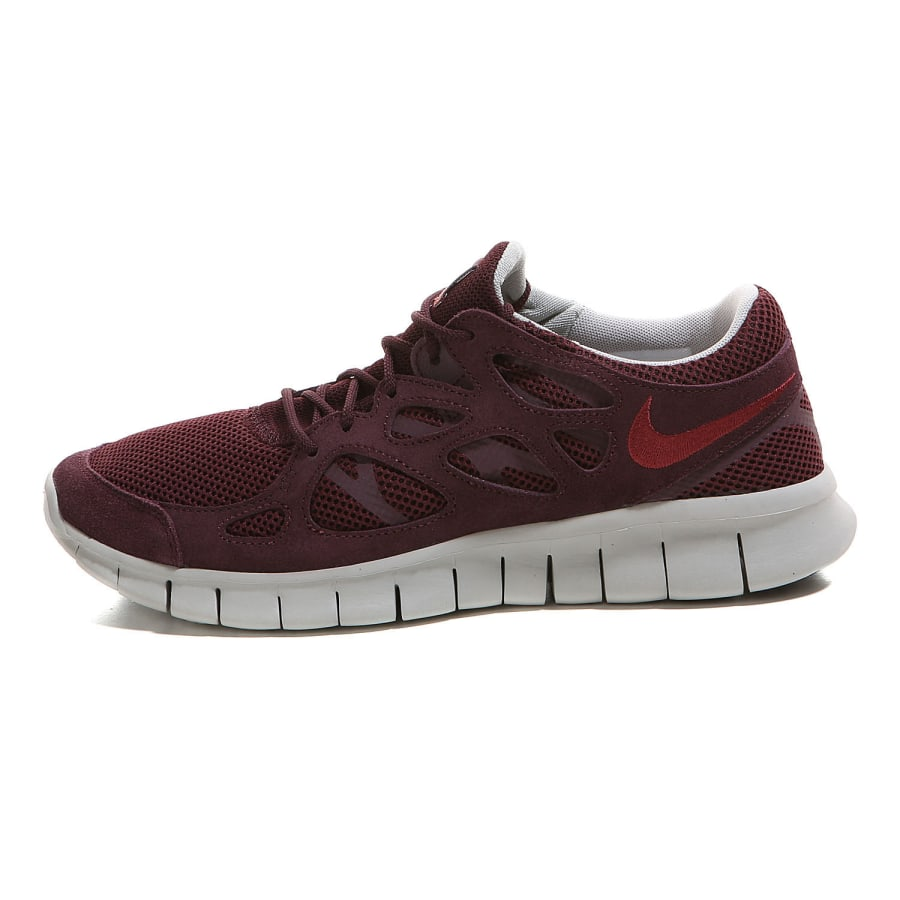 pretty nice fdb3f 26cf8 ... wmns  nike free run 2 ext sneaker men deep burgundy cedar dp brgndy ...