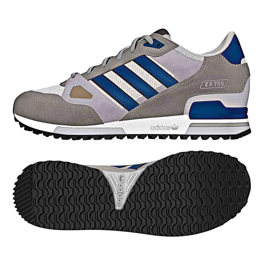 adidas zx 750 blau grau