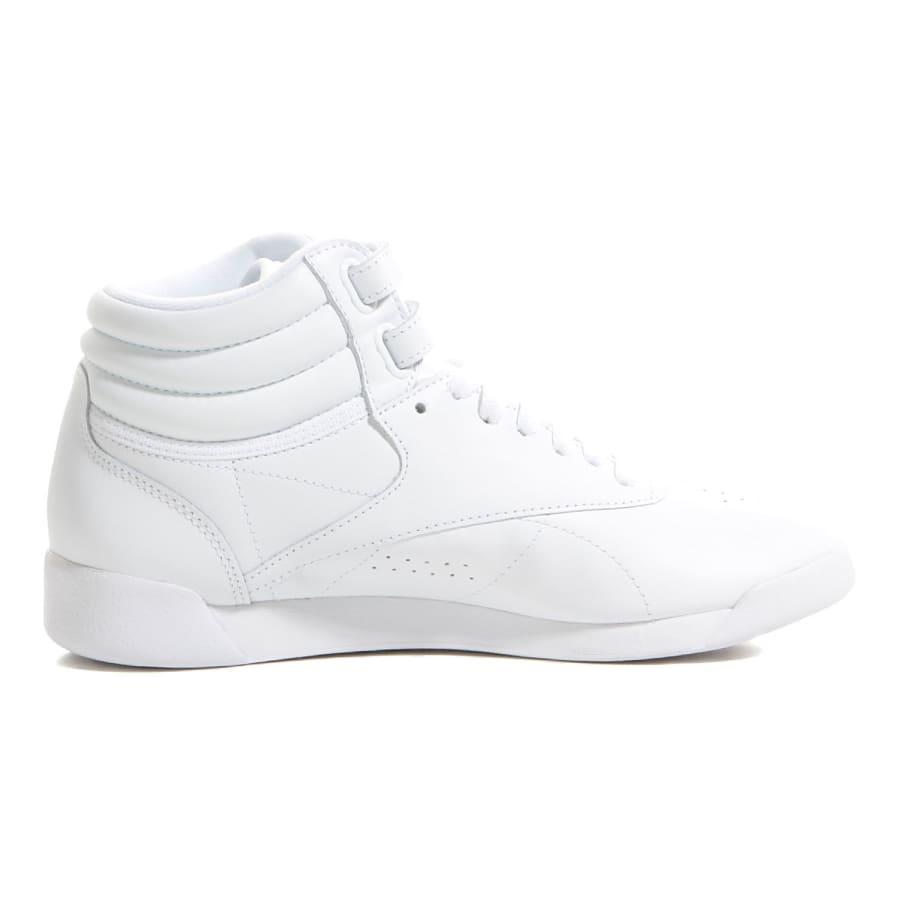reebok freestyle high sneaker women white vaola. Black Bedroom Furniture Sets. Home Design Ideas