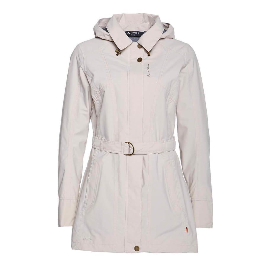 vaude senja jacket women s trench coat beige vaola. Black Bedroom Furniture Sets. Home Design Ideas